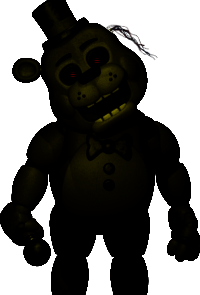 Golden toy freddy