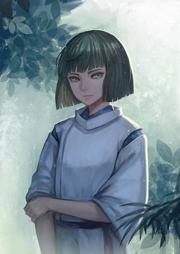 Chihiros Reise ins Zauberland Hintergrund entitled Haku