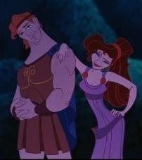 Walt Disney Bilder - Hercules & Meg