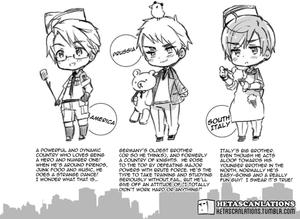 Hetalia Characters