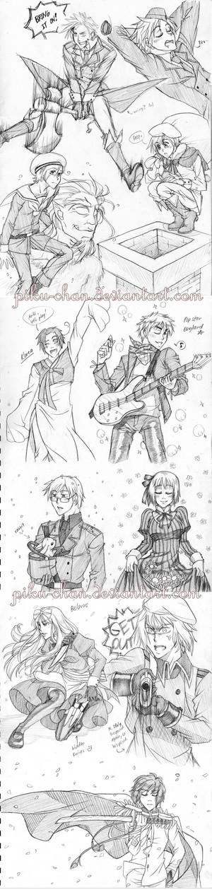 Hetalia Sketchdumpies sejak piku chan