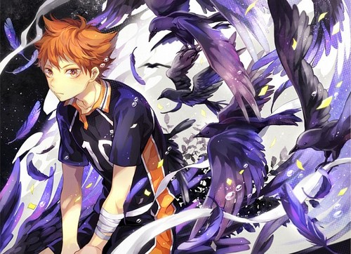 Haikyuu!!(High Kyuu!!) wallpaper possibly with anime titled Hinata Shouyou
