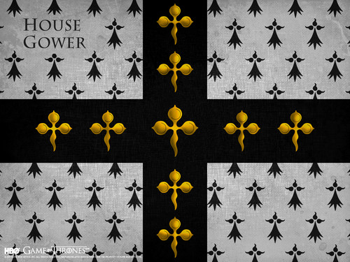 Game of Thrones wallpaper probably containing a sign called House Gower