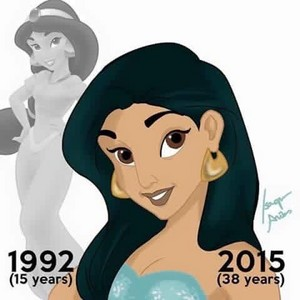 How Old Would Дисней Princesses Be Today?