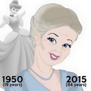 How Old Would ディズニー Princesses Be Today?