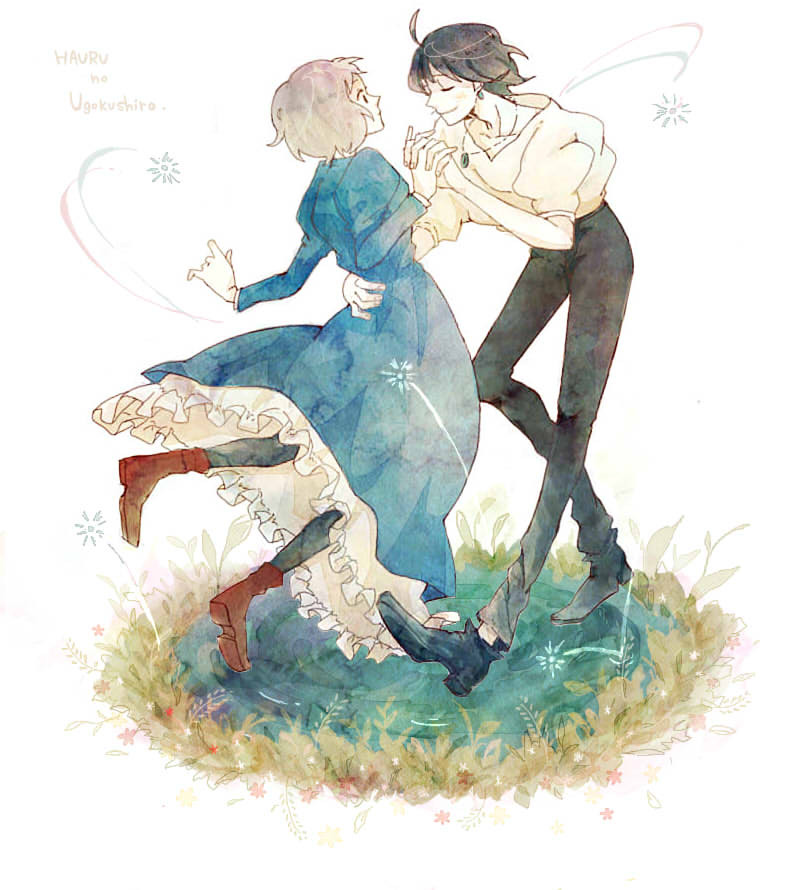 Howl and Sophie - Howl's Moving Castle Fan Art (39028318 ...