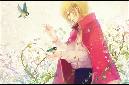 Howl and Sophie wallpaper called Howl