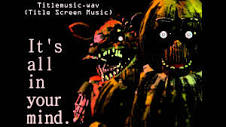 Five Nights at Freddy's 壁紙 probably with アニメ titled ITS ALL IN YOUR MIND