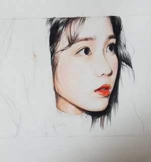 IU Fan Art by 깔창 (lms970515)