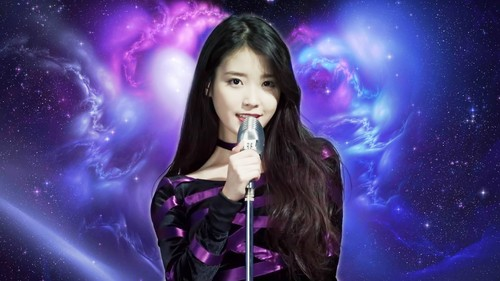 iu wallpaper with a show, concerto called IU, My Universe 1920x1080