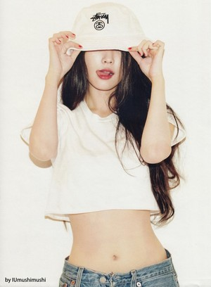 IU for 2015 December GQ Korea HQ Scans