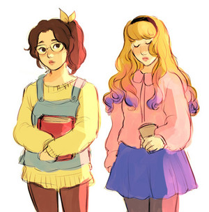 If Belle Looked Like IRL Teenager