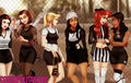 """If Disney Princesses Starred in """"Clueless"""" - beauty-and-the-beast fan art"""
