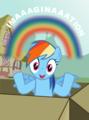 Imagination - rainbow-dash photo
