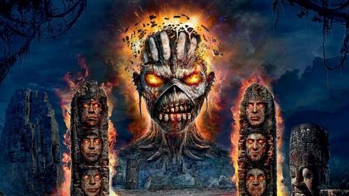 Heavy Metal 바탕화면 called Iron Maiden
