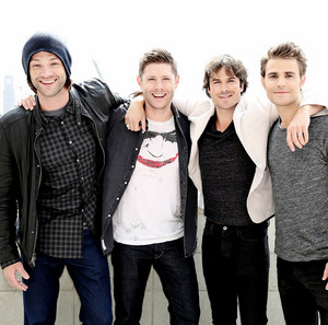 Jared, Jensen, Ian and Paul
