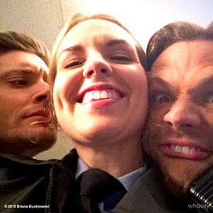 Jared, Jensen and Briana