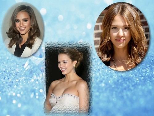 Jessica Alba wallpaper possibly with a hot tub, a water, and a bather titled Jessica Alba