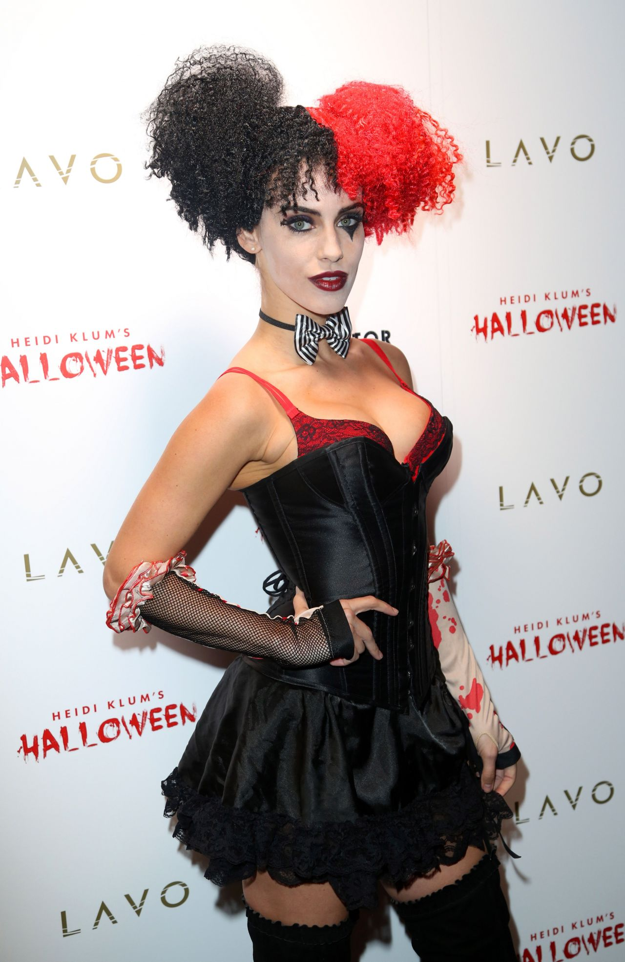jessica lowndes images jessica at heidi klum halloween party hd