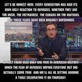 John Oliver on Refugees - debate photo