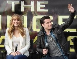 Joshifer Smiling!