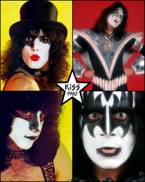 kiss ~August 1980 (Unmasked foto session NYC)