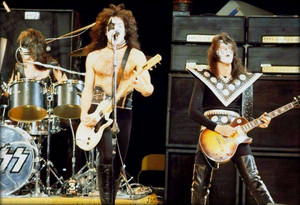 kiss ~Burbank California…April 1, 1975 (The Midnight Special)