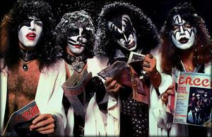 KISS ~Hollywood, California...October 19, 1976 (Creem Magazine picha Session)