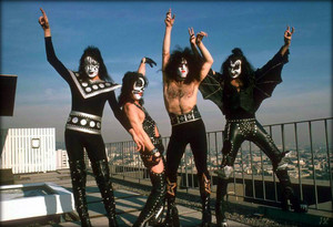 Kiss ~Los Angeles, California…January 16, 1975 (Playboy Building)