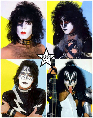 KISS ~Munich, West Germany...November 30, 1982