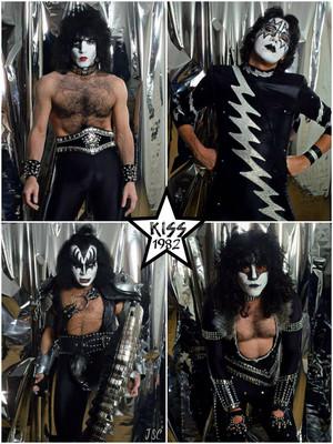Kiss ~Stockholm, Sweden…November 22, 1982