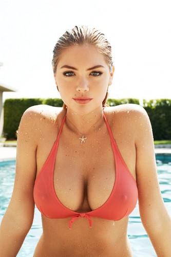 Kate Upton fond d'écran with a bikini called Kate Upton