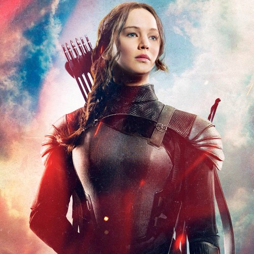 The Hunger Games پیپر وال with a breastplate called Katniss Everdeen - Mockingjay