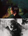 Katniss and Peeta - the-hunger-games fan art