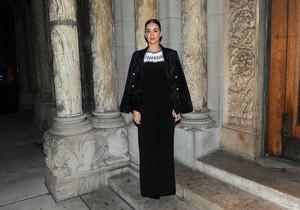 Katy at 'Fortuna Desperata' Opening Night
