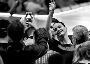 Katy at Madonna's 'Rebel Heart'
