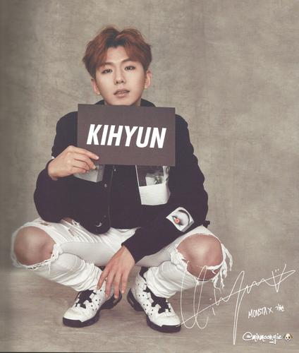 Monsta X wallpaper titled Kihyun hottie ♔♥