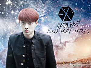 Kyungsoo_galaxy_wallpaper BY exo_kai_kris