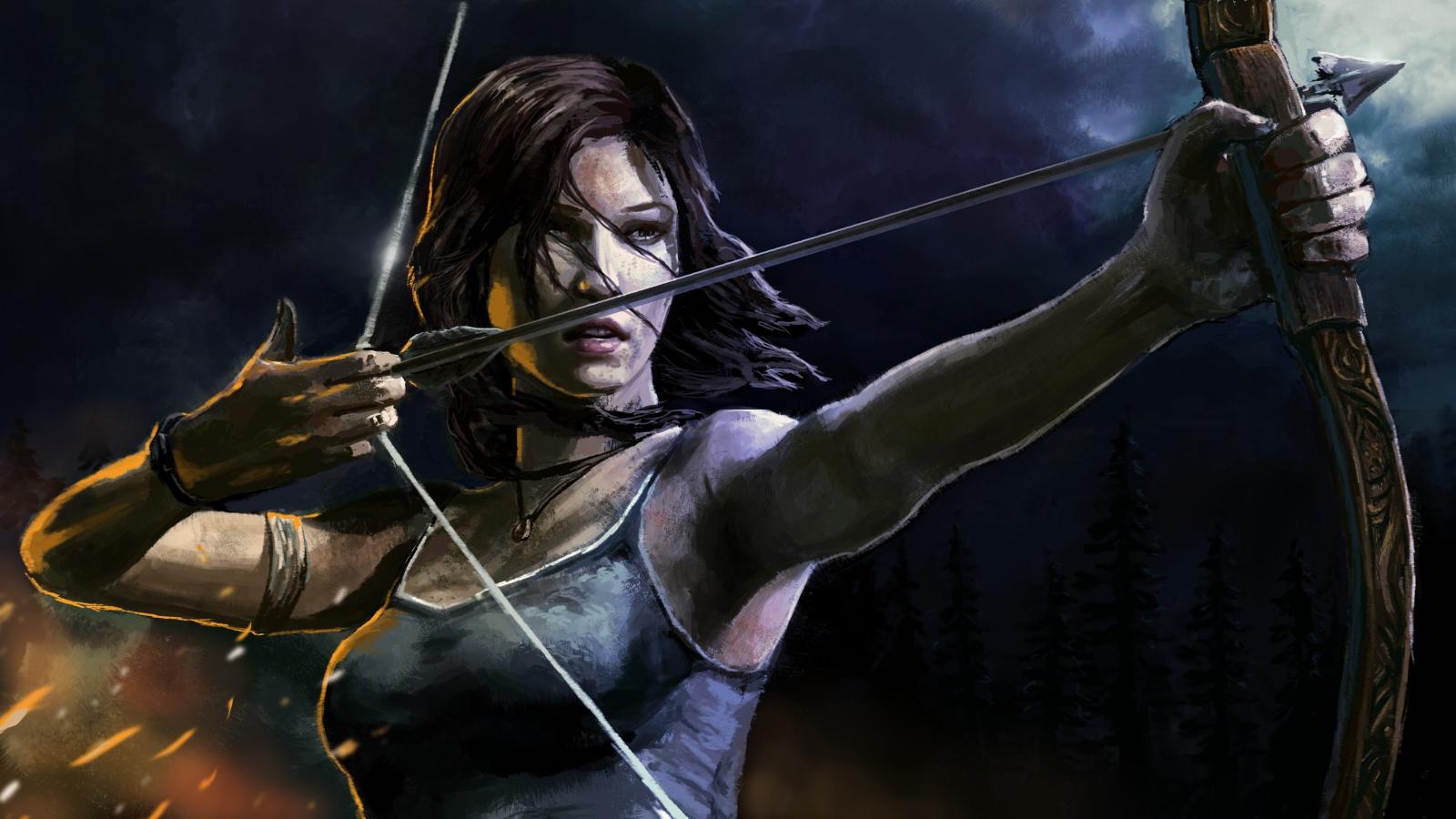Lara Croft Tomb Raider Wallpaper 39057374 Fanpop