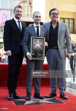Legendary Daniel Radcliffe Now estrela of Walk of fame (Fb,com/DanielJacobRadcliffeFanClub)