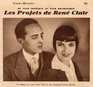 Les Projets de Ren� Clair Avec Louise Brooks.