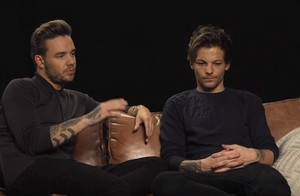 Liam and Louis During an Interview