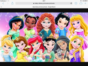Little Disney princesses how cute!
