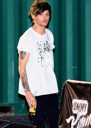 Louis at ABC Studios