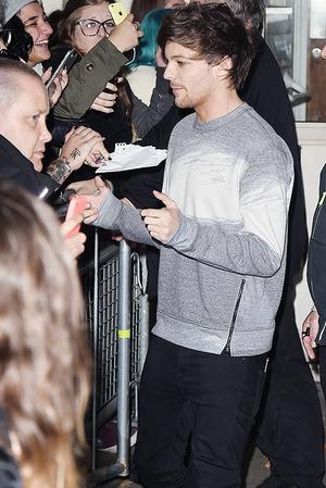 Louis leaving BBC studios