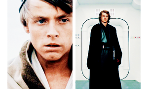 Luke and Anakin