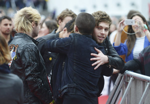 Luke at BBC Radio 1 Teen Awards