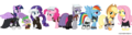 MLP Crossover - my-little-pony-friendship-is-magic photo