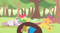 MLP Fanart Cutie Mark Crusaders and Discord Laughing - discord-my-little-pony-friendship-is-magic fan art