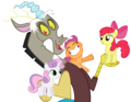 MLP Fanart Discord with the Cutie Mark Crusaders - discord-my-little-pony-friendship-is-magic fan art